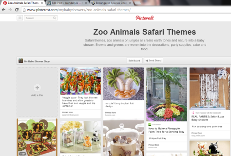 Pinterest Safari Baby Showers by MyBabyShowerShop - see ideas for your safari baby shower